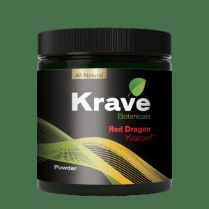 Krave Kratom Powder - Red Dragon