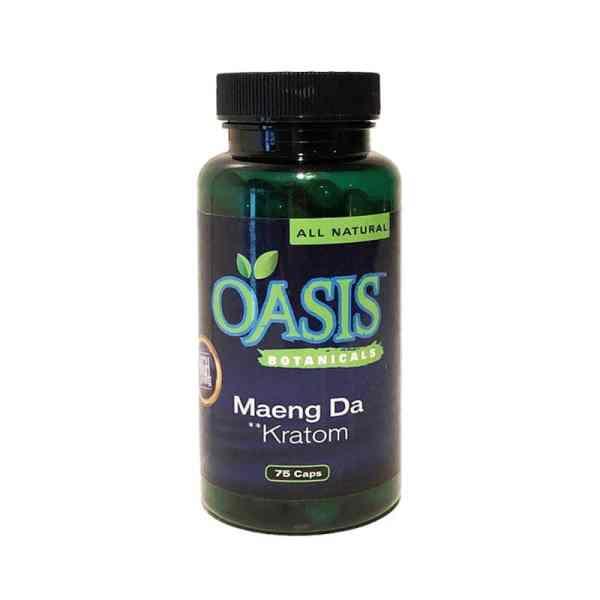 Oasis Kratom Capsules - Maeng Da