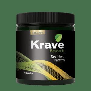 Krave Kratom Powder - Red Hulu