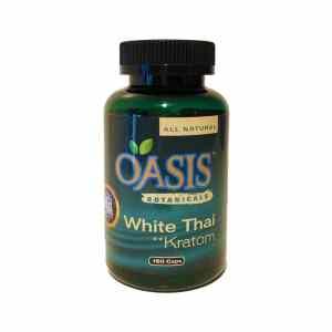 Oasis Kratom Capsules - White Thai