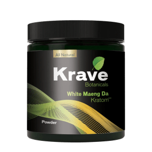 krave white maeng da powder