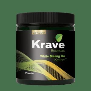 krave white maeng da powder