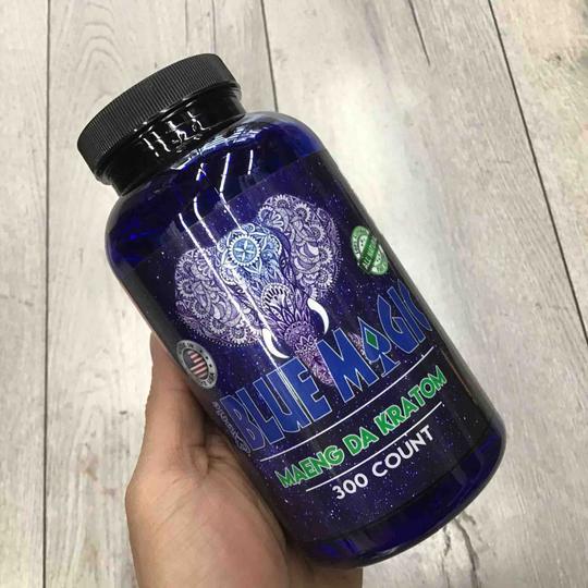 blue magic green maeng da kratom