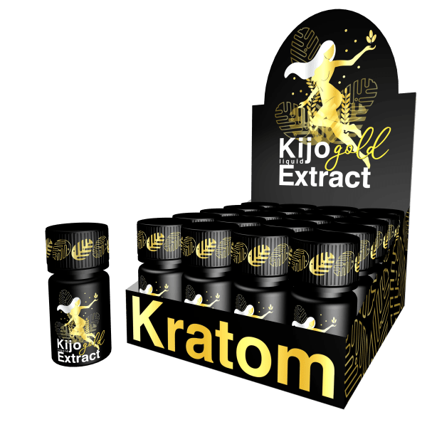 Kijo-Kratom-Gold-Liquid-Extract-Shots-and-Case