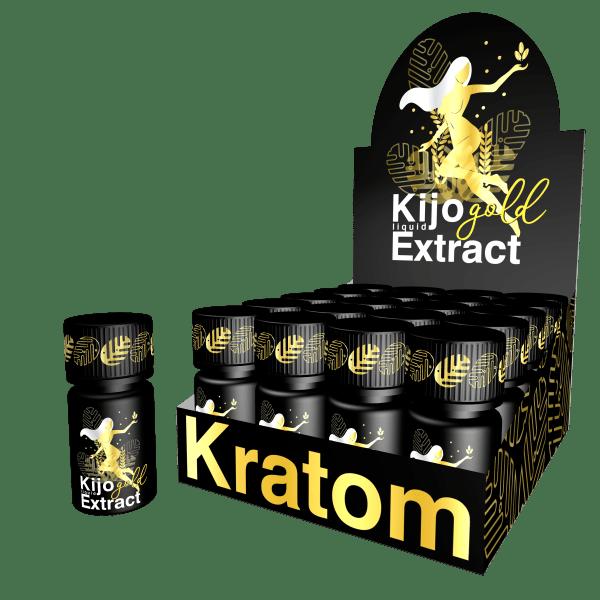 Kijo-Kratom-Gold-Liquid-Extract-Shots-and-Case