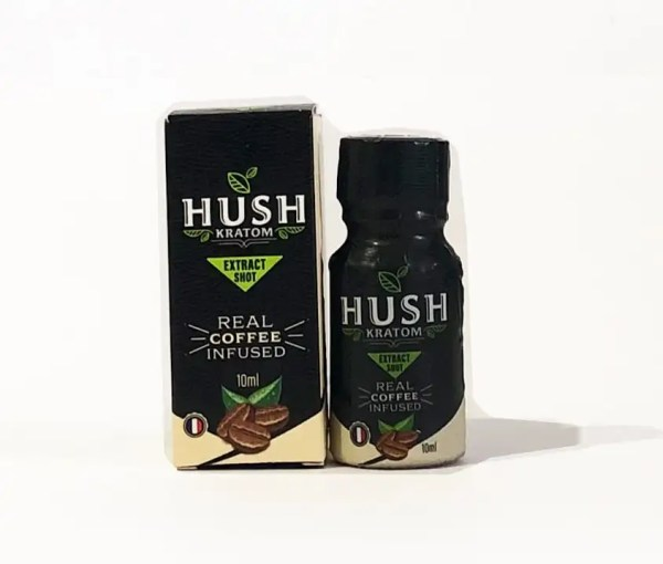 Hush Kratom Shot Coffee Infused
