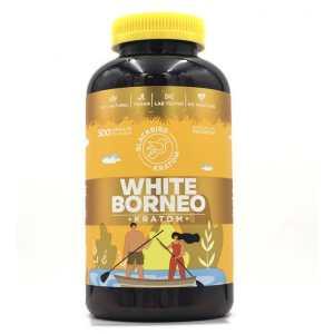 Black Bird White Borneo Kratom Capsules