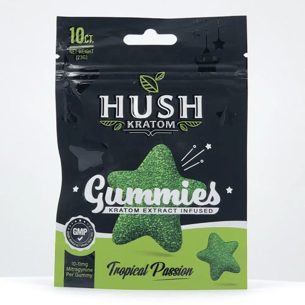 hush kratom gummies