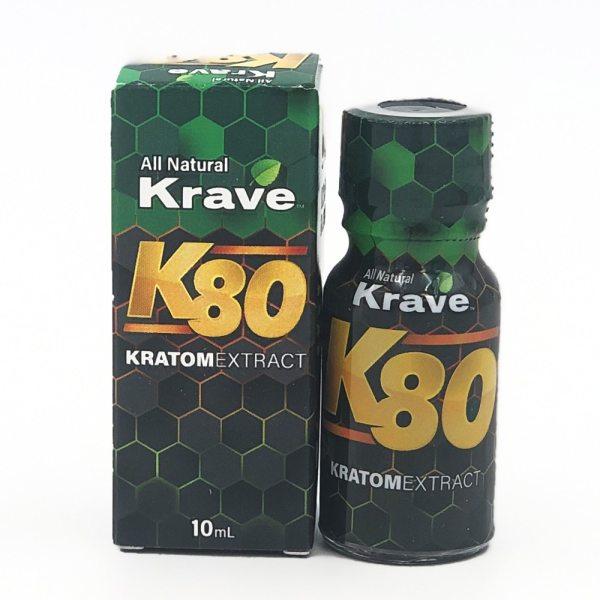 Krave K80 Kratom Liquid shot