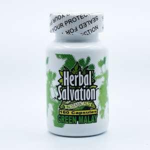green malay kratom capsule 160