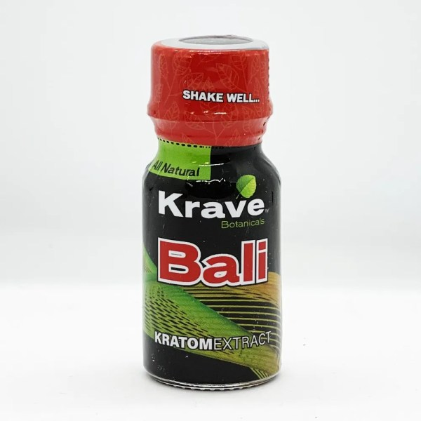 Krave Bali Kratom Shot single