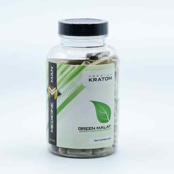 Medicine Man Green Malay Kratom Capsules
