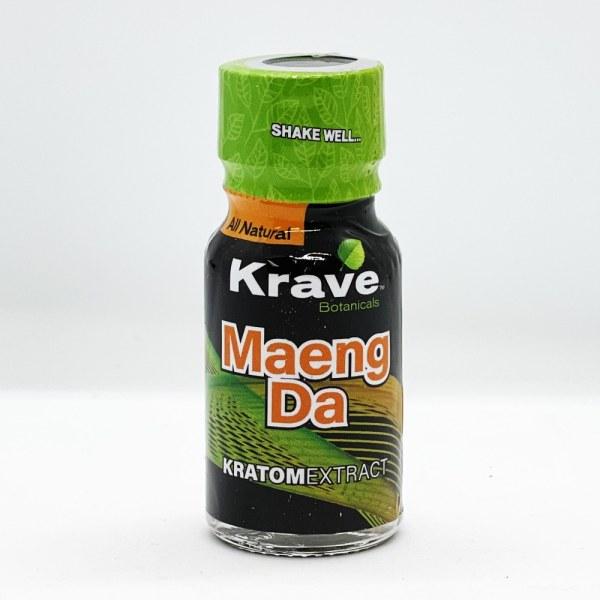 Krave Maeng Da Kratom Extract Liquid Shot box