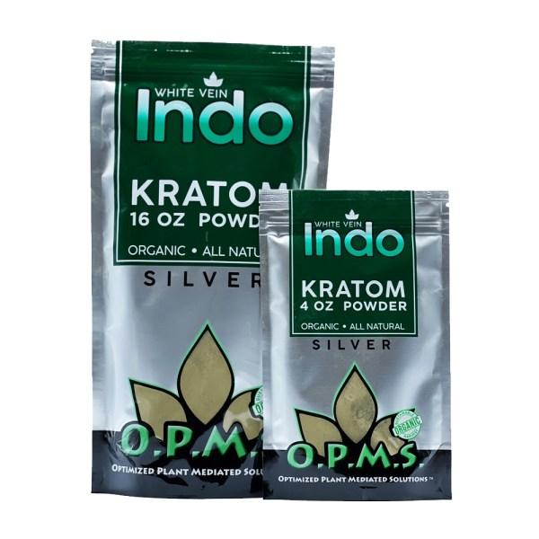 OPMS White Vein Indo Kratom Powder