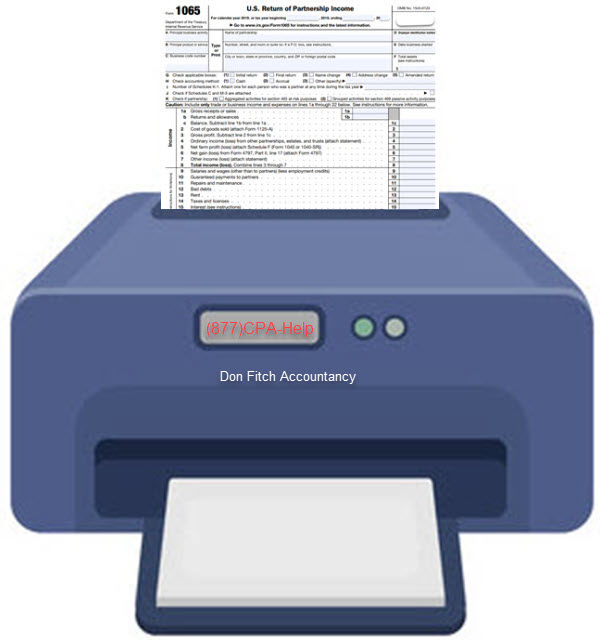 1065 Tax Return Engagement Paperwork