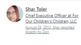 Testimonial of Shar Toler