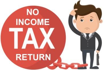 No Income Tax Return