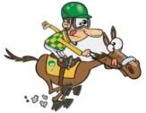 Racing horses harness racing dog racing