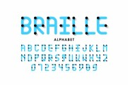 Braille to a Visually Impaired person