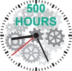 participate in the activity for more than 500 hour