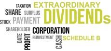 Extraordinary Dividends
