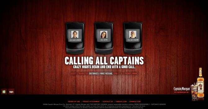 captain morgan voicemail prank