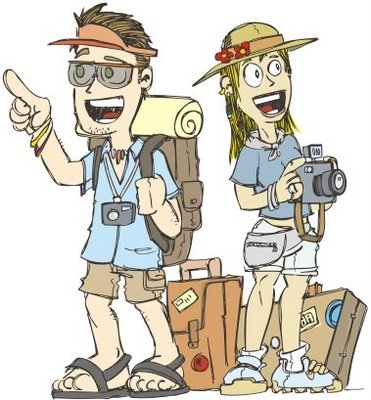 Não mais turistas, mas moradores