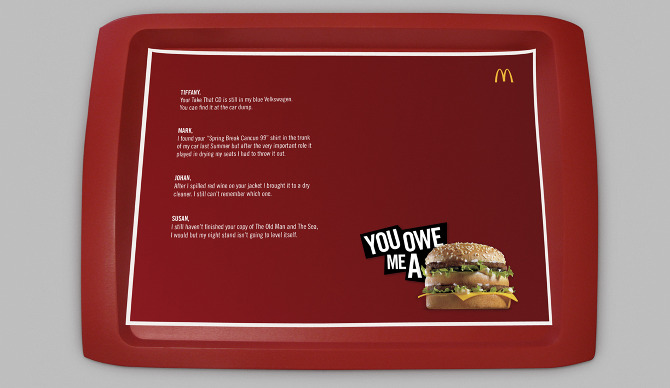 Mcdonald S You Owe Me A Big Mac Karen Feghali