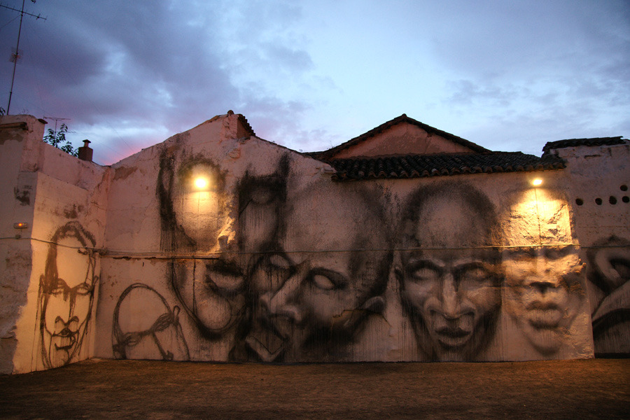 Suso33 Spain  unurth  street art