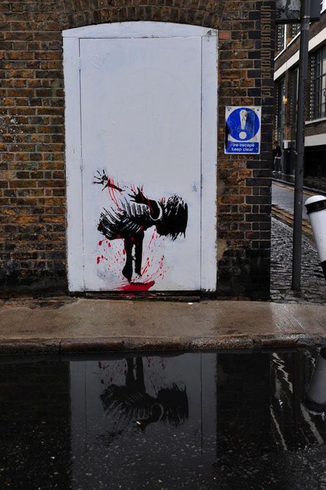 Grafter Splash London Unurth Street Art