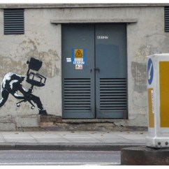 Chair Under Cover Truman Barber Banksy - London Calling Unurth | Street Art