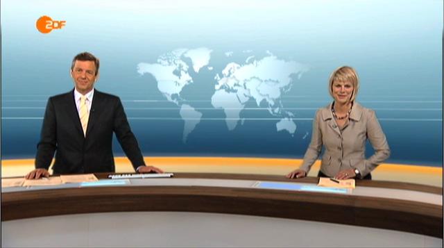 ZDF heute  heute journal Germany  FLINT SKALLEN