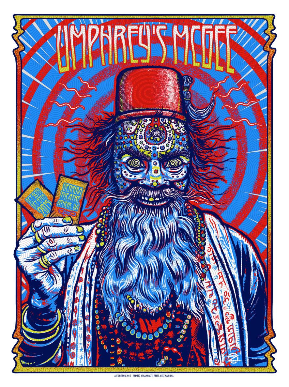 umphrey s mcgee poster zoltron