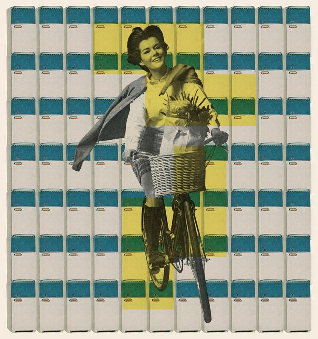 """Alan Ganev, 'F&B,' 24""""x24"""" color print"""