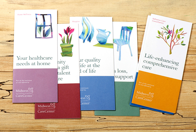 Palliative CareCenter Brochures Albena Ivanova – Design