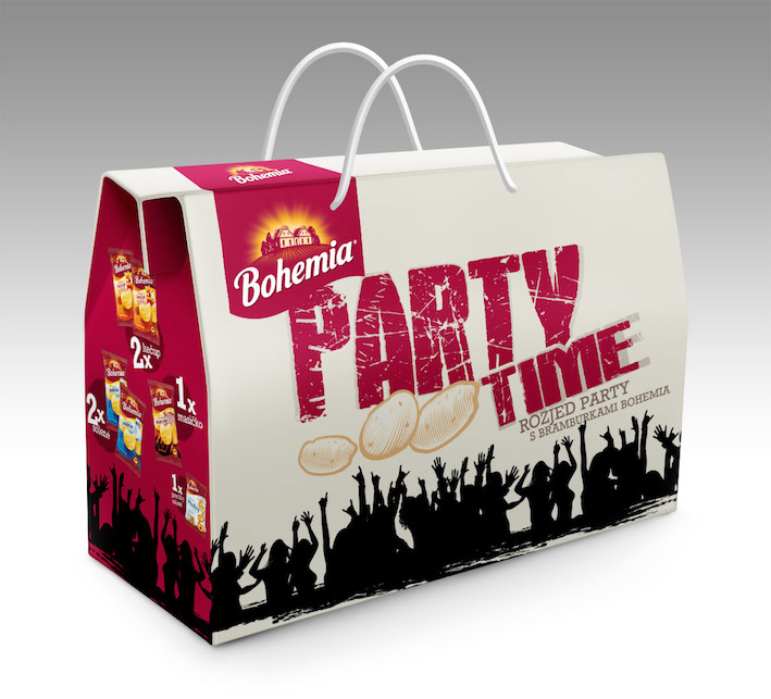 BOHEMIA CHIPS PARTY PACK  kleinMAUS