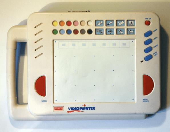 Vtol Circuit Bent Vtech Video Painter
