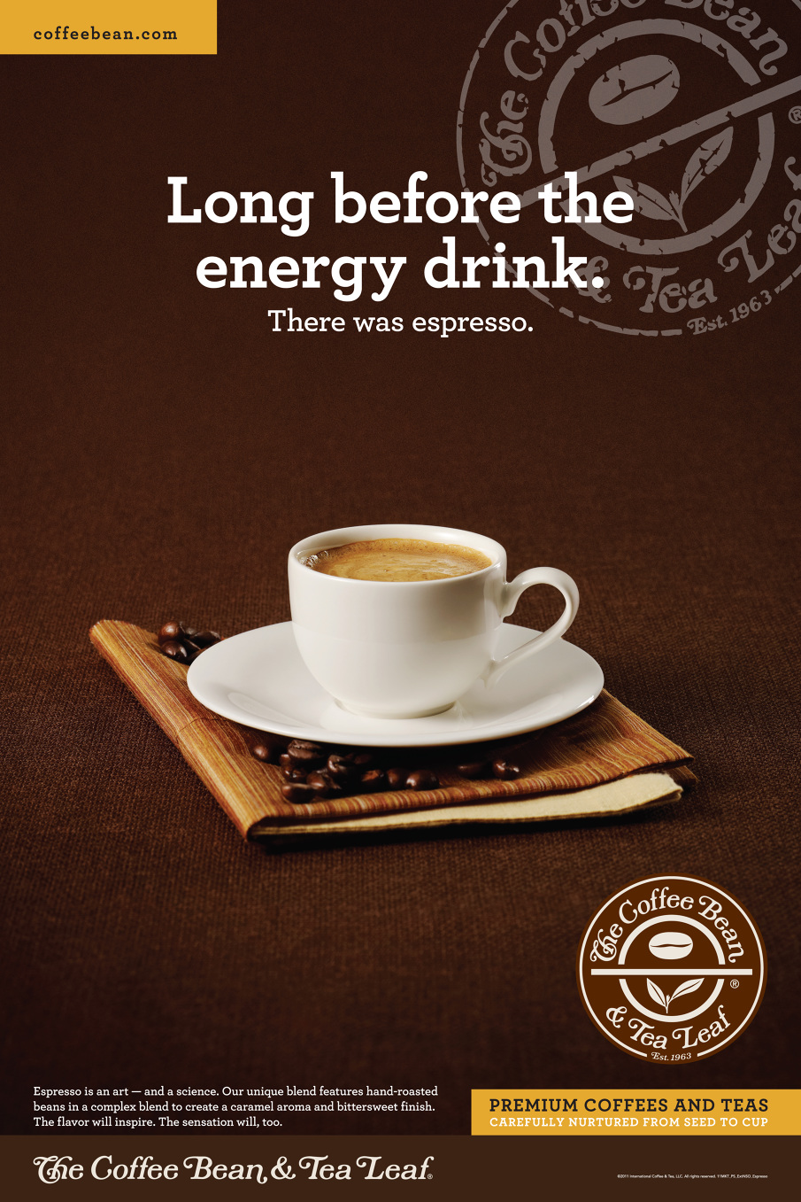The Coffee Bean Brand Awareness Campaign  Beth Wood  Art