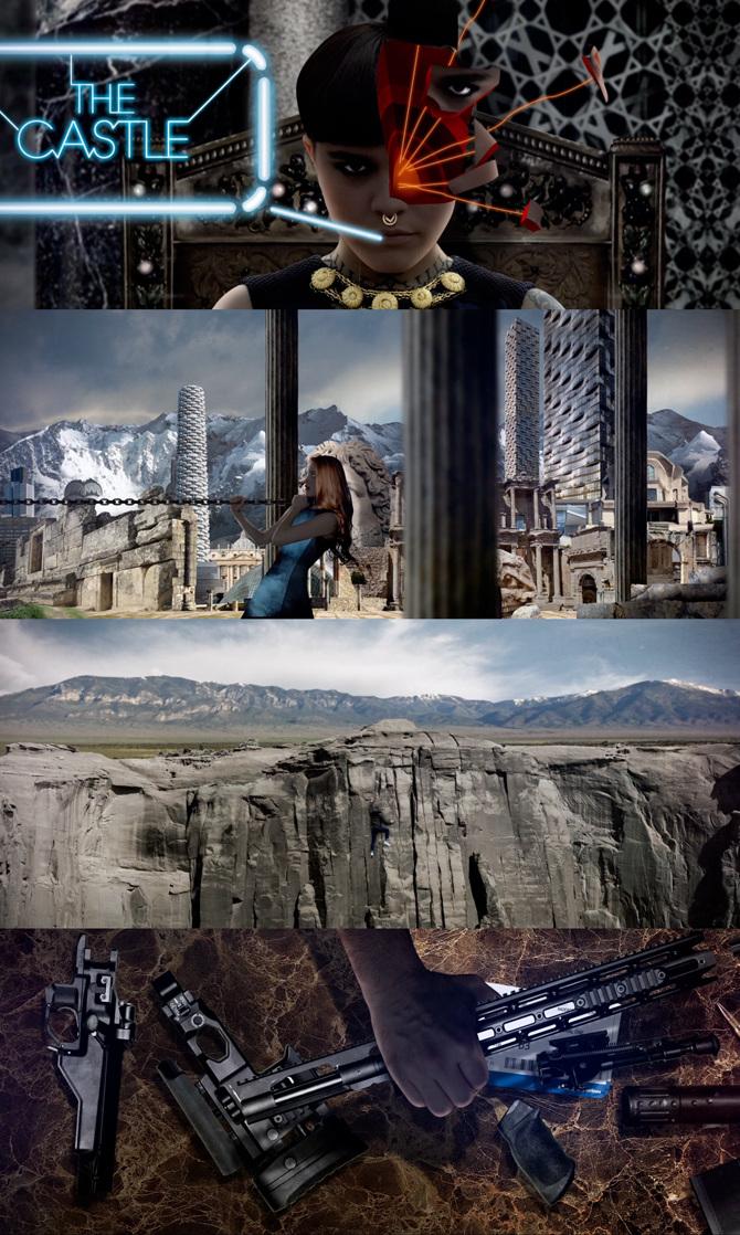 The Avener Castle In The Snow : avener, castle, AVENER, Kadebostany, Castle, Mikael, Colombu