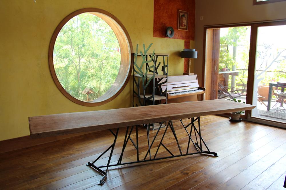 table longue atelier simon