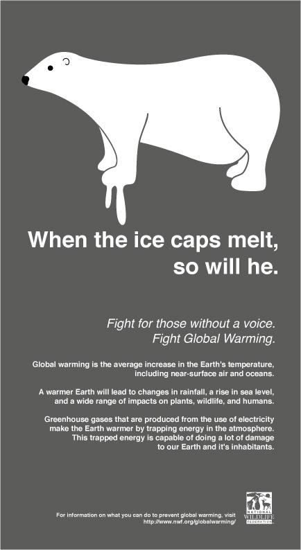 Global Warming PSA  debra howell