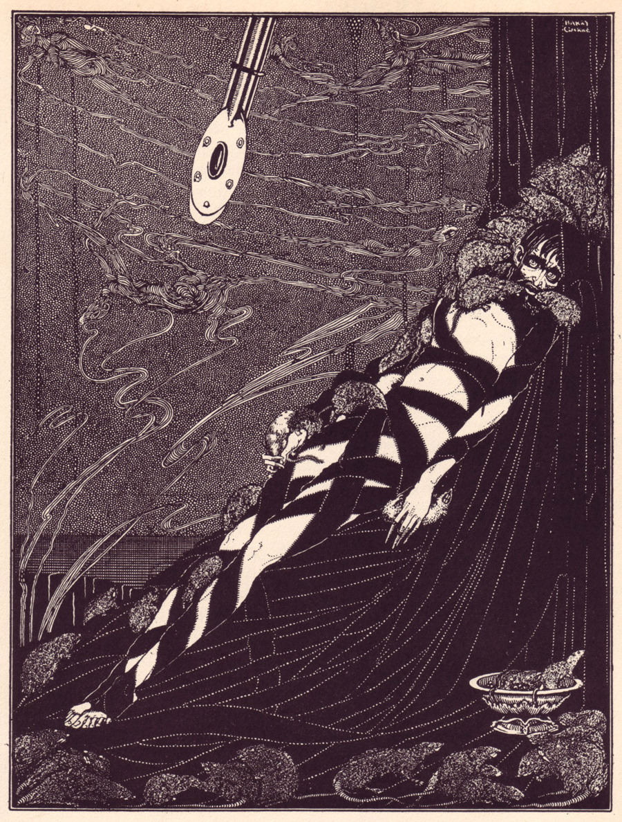 Harry Clarke Illustrations for E A Poe  50 Watts