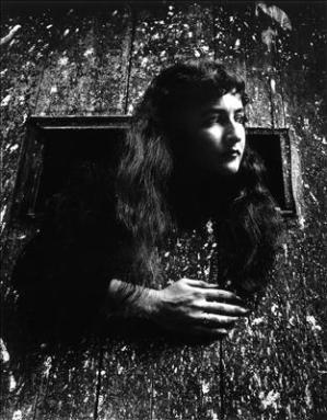 La escritora Joyce Mansour (1928-1986)