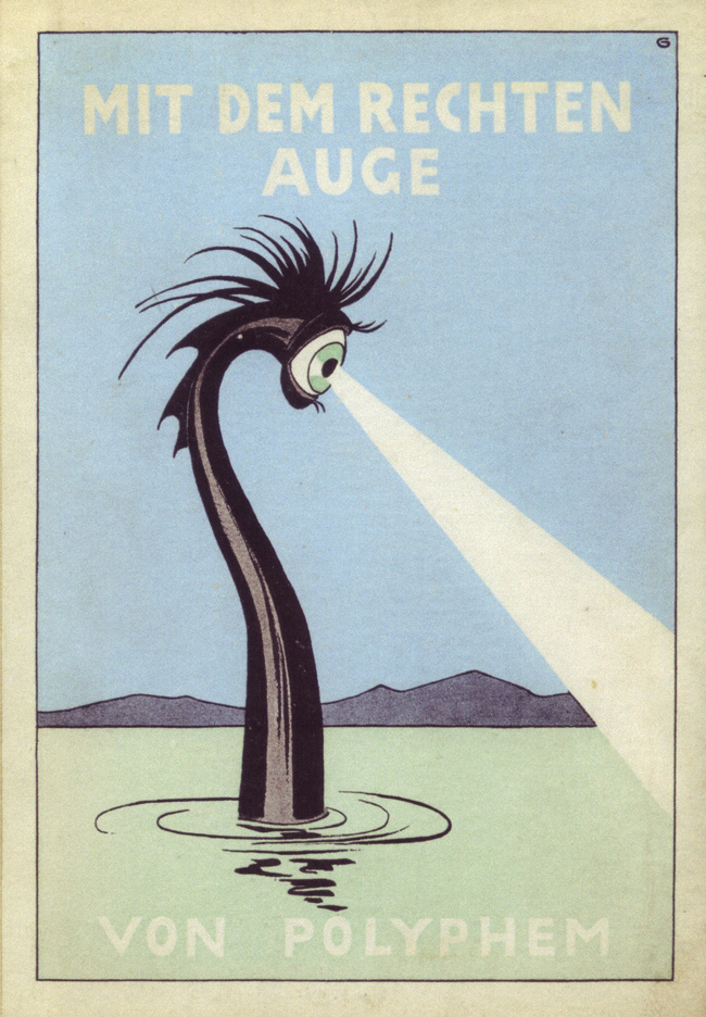 Illus. and design by Oskar Garvens, book cover, Germany, 1925