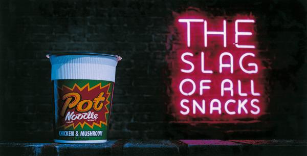 Pot Noodle  Slag Of All Snacks  Lee Tan