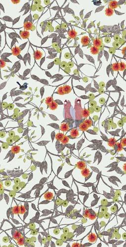 Animal Pattern Wallpaper Galah Alice D Newman