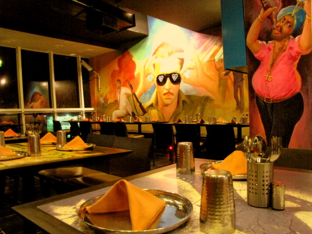 Oye Dhaba Stylization of an Indian Theme Restaurant