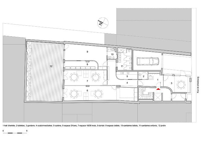 maison relais Luxgare  laruade architecte
