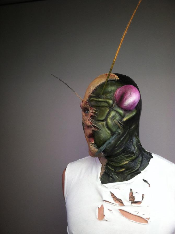 Special Fx Human Praying Mantis Hybrid Makeup And