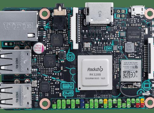Asus Tinker Board – różnice w stosunku do Raspberry Pi